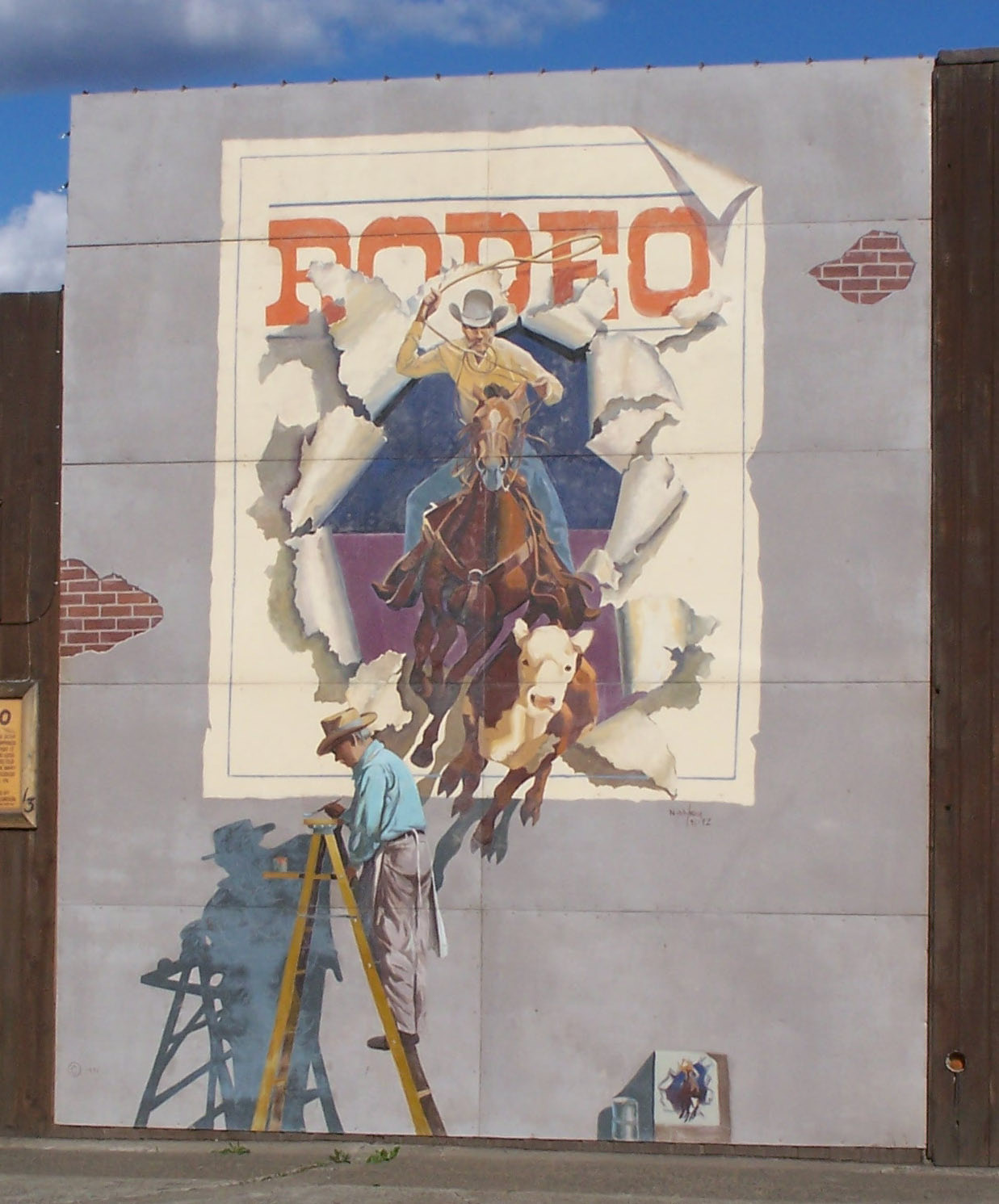 Toppenish washington historical western murals northwest for Mural history